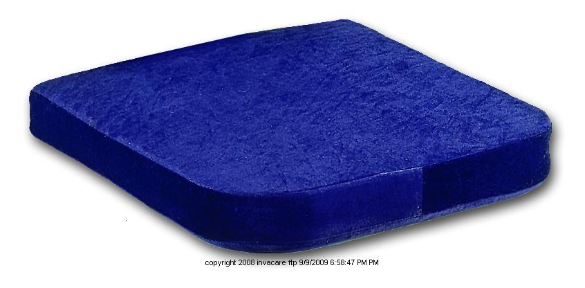 Invacare Memory Foam Lumbar and Seat Cushion, Ib Mem Foam Seat Cush 2in, (1 EACH)