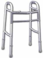 GUARDIAN EASY-CARE ADULT FOLDING WALKER