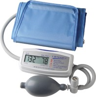 MINI MANUAL INFLATE BP MONITOR W/LARGE CUFF