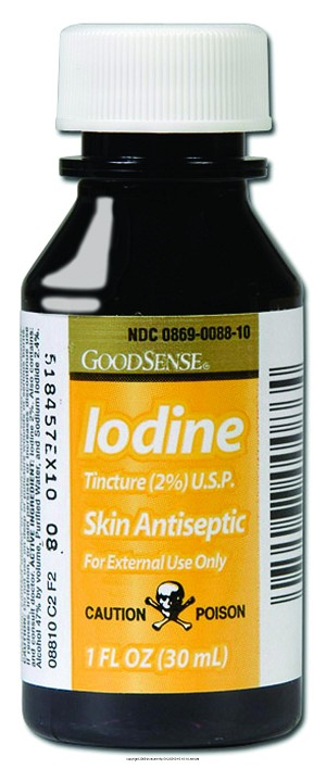 Iodine, Iodine Tincture 1oz, (1 CASE, 72 EACH)