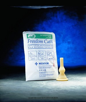 Freedom Cath Male External Catheter, fredm Cath Ext Ltx S-Adh Md, (1 BOX, 100 EACH)