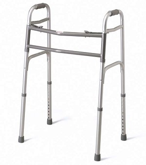 Two-Button Folding Walker, Adult