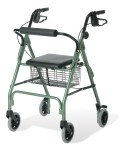 Envoy 460 - Economy Rolling Walker, Red