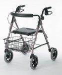Envoy 480 - Delux Rolling Walker, Red