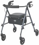 Ultralight Rollator, Smoky Blue