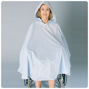 Shower Poncho with Hood