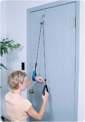 Reach 'N Range Pulley with Assist With webbing strap