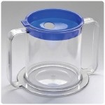2 Handed Cup for Thick Liquids - 3-Pack Replacement Lids
