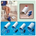 "Sock and Stocking Aid with Built-Up Foam Handles - Adult, 4""W x 9 1/2""L Rope 30"", Pack of 25"