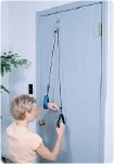 Reach 'N Range Pulley with Assist With metal bracket:Fits standard and thick doors