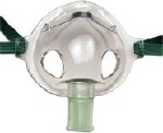 AIRLIFE AEROSOL MASK W/ELASTIC BAND