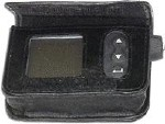 LEATHER CASE W/BELT CLIP, BLACK, FOR IR1200 SERIES