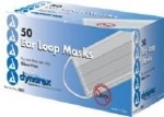 EARLOOP PROCEDURE FACE MASK. BLUE. CASE OF 600