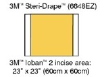 IOBAN 2 ANTIMICROBIAL INCISE DRAPE,35