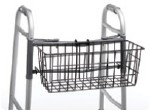 CARRYING BASKET BLACK. (FOR FOLDING WALKER)