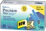 PRECISION XTRA END FILL TEST STRIPS, 100/BOX