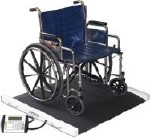 PORTABLE WHEELCHAIR SCALE,1000 LB CAP