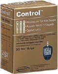 CONTROL TEST STRIPS, 50/BOX