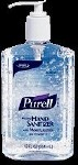 PURELL INSTANT HAND SANITIZER, 12 OZ PUMP BOTTLE