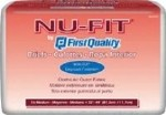 FIRST QUALITY NU-FIT ADULT BRIEF, MED, 32