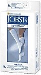 SENSIFOOT 8-15 MM SUPPORT SOCK, WHITE, LARGE, PAIR