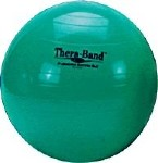 THERA-BAND 65CM/GREEN EXERCISE BALL, EACH
