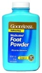 Good Sense Medicated Foot Powder, Medicated Foot Pwdr 4oz, (1 CASE, 12 EACH)