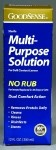 Good Sense No Rub Saline Solution, Saline Sol Lens No Rub 12oz-Sp, (1 CASE, 24 EACH)