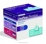 Unifine Pentip Pen Needle Short, Pen Ndl 8mm X 31G Shrt 100Ct, (1 BOX, 100 EACH)