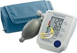 ADVANCED MANUAL INFLATE BP MONITOR WITH LARGE CUFF