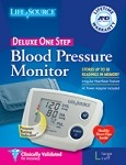 ONE STEP PLUS MEMORY BP MONITOR W/AC ADAPT,LG CUFF
