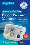 ONE STEP PLUS MEMORY AUTO INFLATE BP MONITOR, MED