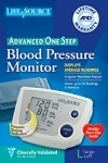 DIGITAL BLOOD PRESSURE MONITOR ONE STEP,LARGE CUFF