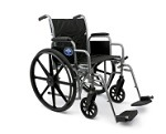 Excel K1 Wheelchair w/ Removable Arms and Detachable Elevating Legrests (20