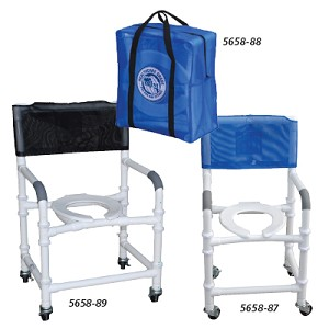 "Knockdown Shower Chairs - 18""W Shower Chair"