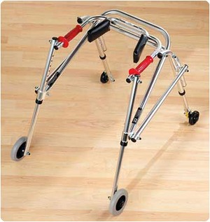 "Kaye Reverse Walker Forearm Support. Dimensions: 3.5"" to 7"" high. Fits any walker. Optional Equipment"