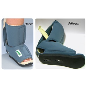 Leeder Ankle Contracture Boot Fleece, Leeder Ankle Contracture Boot without Ambulation Pad, Size: Large, Calf Circum.: Greater than 16""