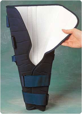 "Knee Immobilizer Short Length 20"", Medium, Circumference of Thigh: 19"" - 20"""