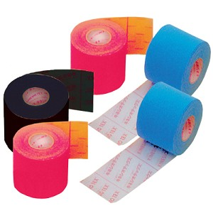 Kinesio Tex Tape - Bulk 2 x 92' (5cm x 31.5m), 1 roll/box, Black
