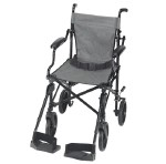 Folding Transport Chair with Carrying Tote - Transport Chair