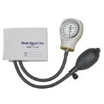 Single-Patient Use Sphygmomanometer - Adult, Yellow
