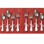 Finger Loop Utensils - Right Hand Teaspoon