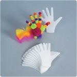 Precut Hands. Color: Multi-colored