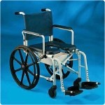 Invacare Rehab Shower/Commode Chair. 16