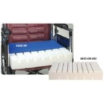 Skil-Care Pressure-Check Foam Cushion - w/Sheepskin Cover 18x16x4