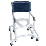 Outrigger Shower/Commode Chair - Commode
