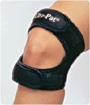 Cho-Pat Dual Action Knee Strap - Size: X-Small, Mid Patella Circumference up to 12