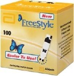 FREESTYLE TEST STRIPS, BOX OF 100