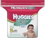 HUGGIES NATURAL CARE FRAGRANCE FREE WIPE REFILL