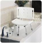 EASY CARE SHOWER CHAIR, BACKREST, UNASSEMBLD RETAIL